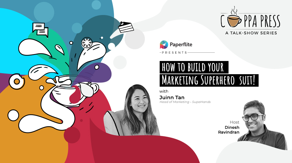 How to build your marketing superhero suit - Cuppa Press
