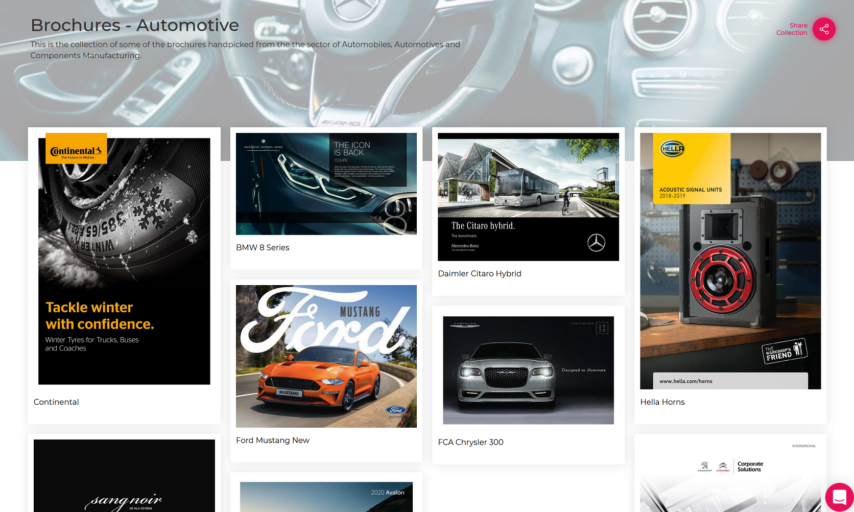 Brochure - Automotive Industry