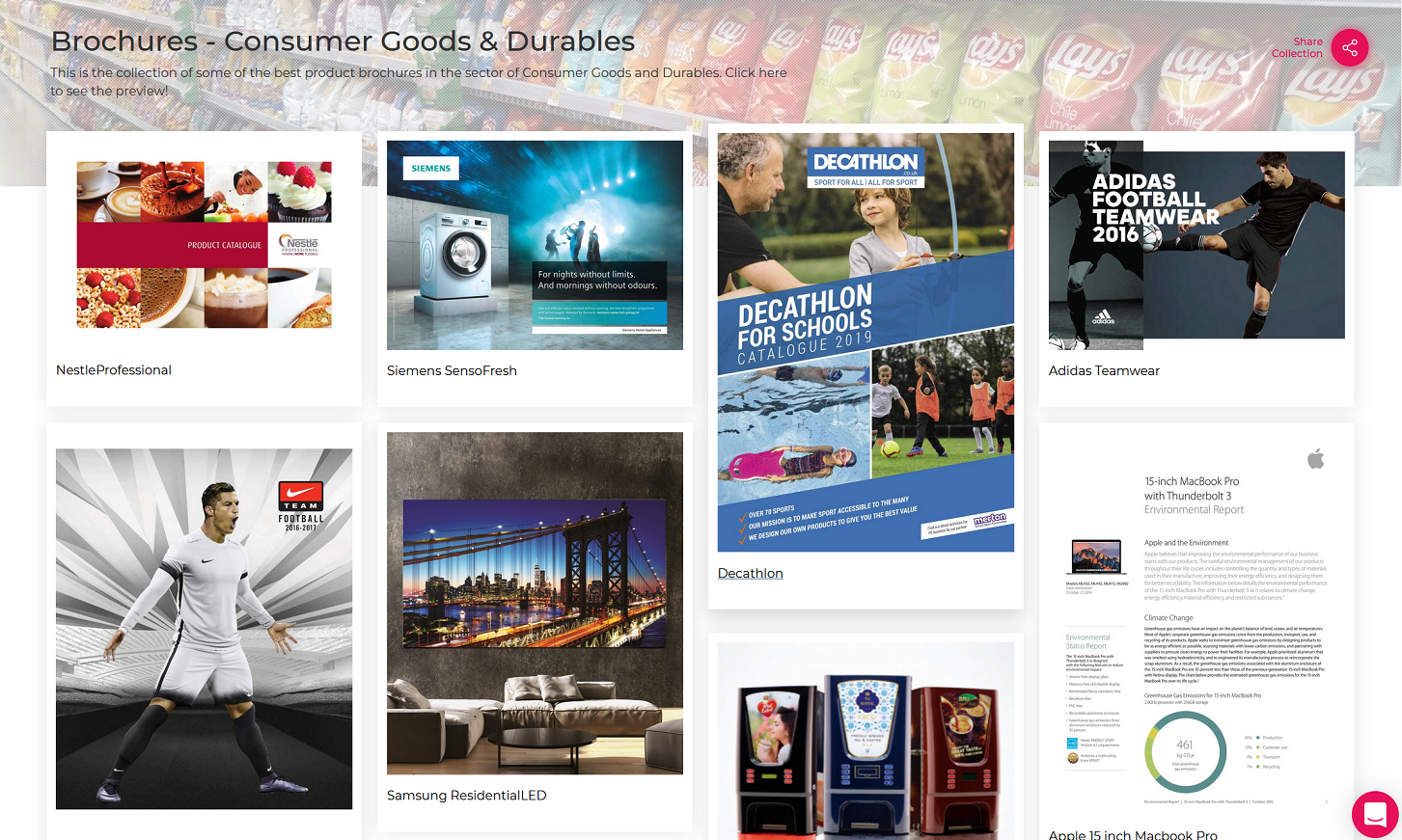 Brochure - Consumer Goods Industry