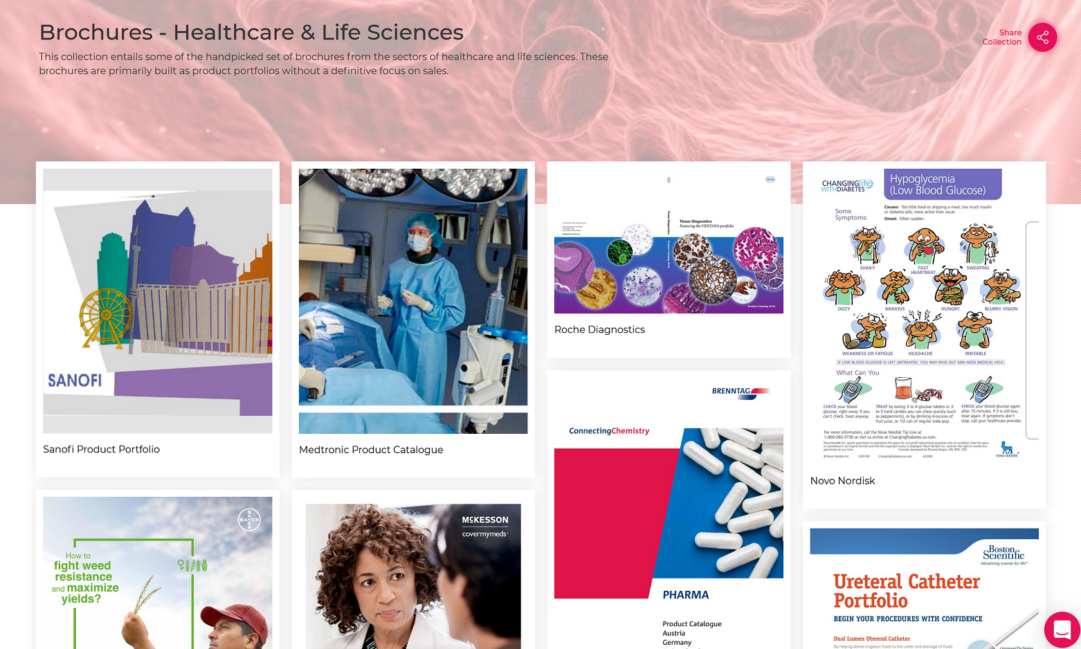 Brochures-Healthcare & Life Sciences Sector