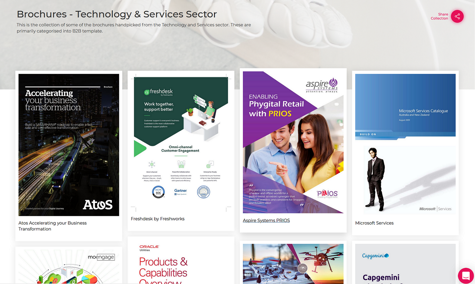 Brochures-Technology & Services