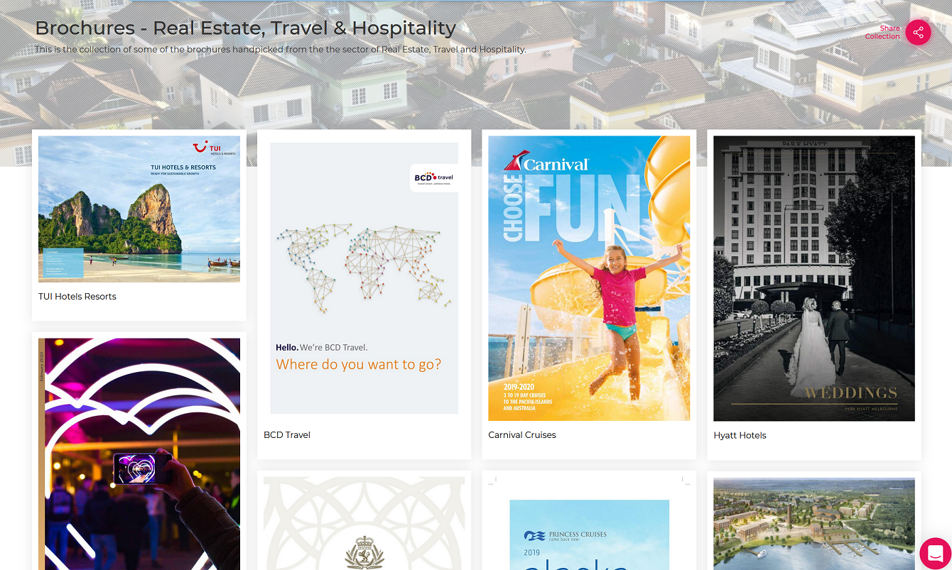 Brochures-Travel & Hospitality