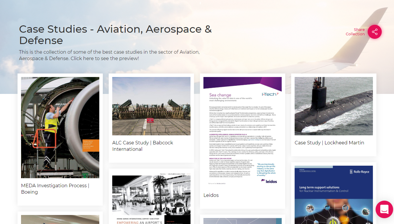 Case Study-Aviation & Defense Sector