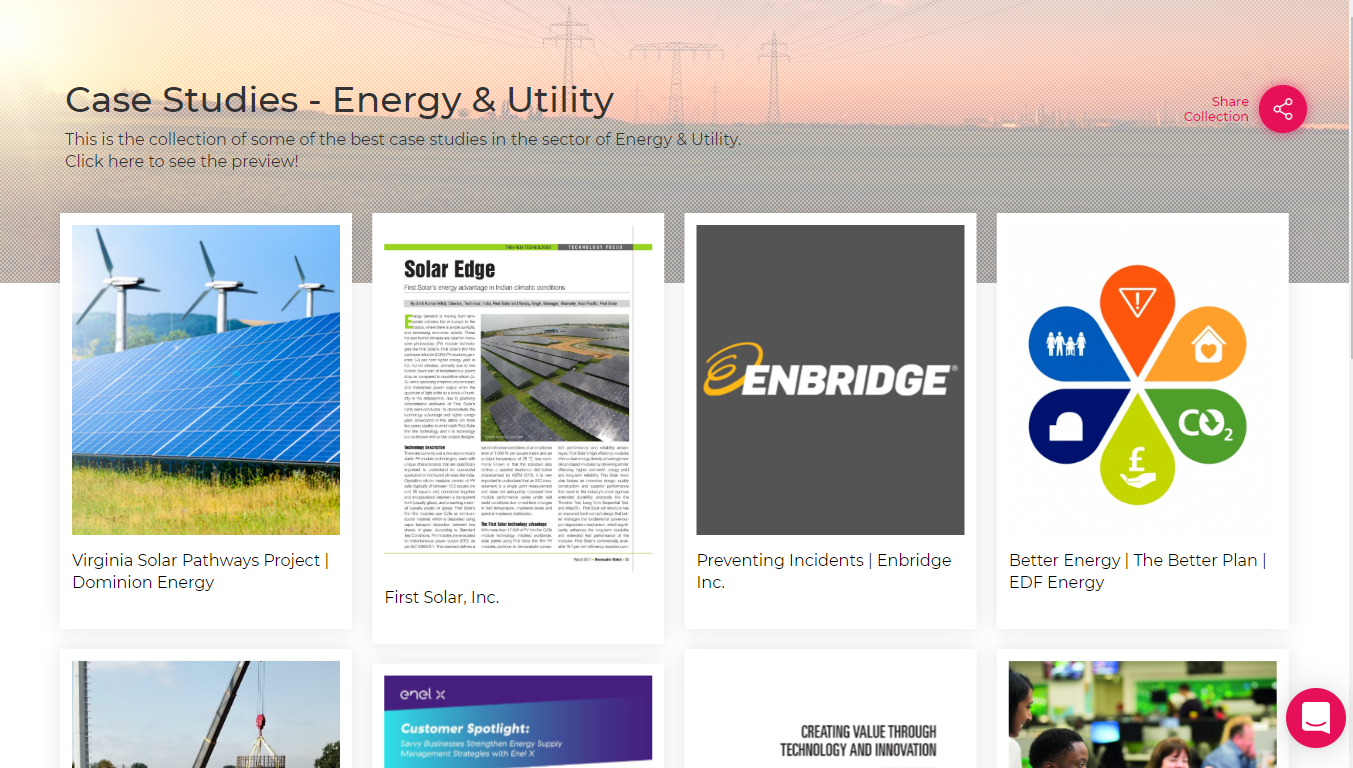 Case Study-Energy & Utility Sector