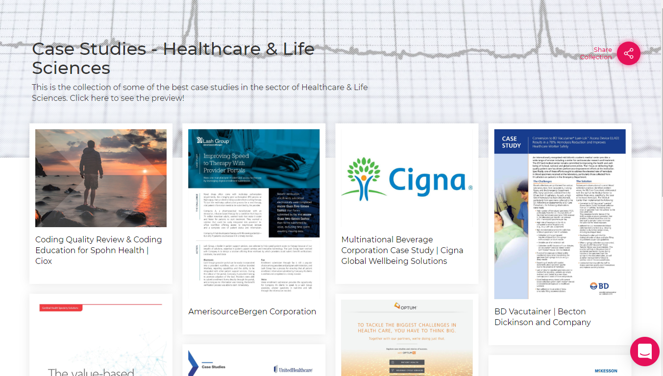 Case Study-Healthcare & Life Science Sector
