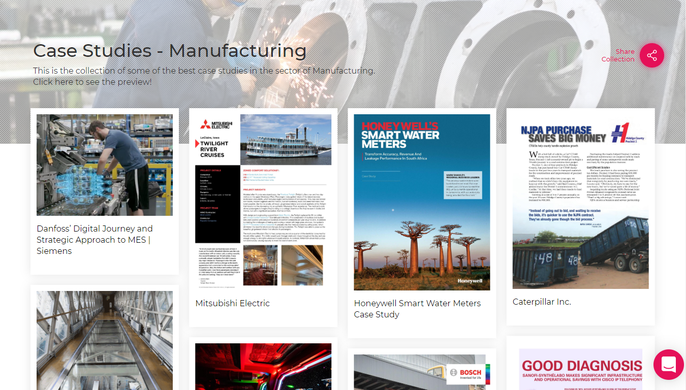 Case Study-Manufacturing Sector