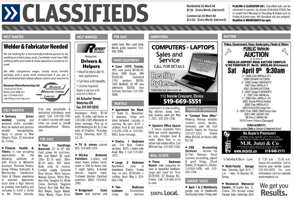 Classifieds Integrated Marketing Communication Newspapers