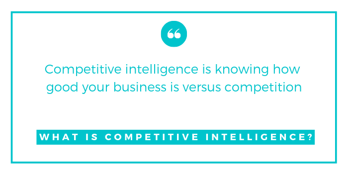 COMPETITIVE INTELLIGENCE TEMPLATES CAN SIZE UP YOUR COMPETITION