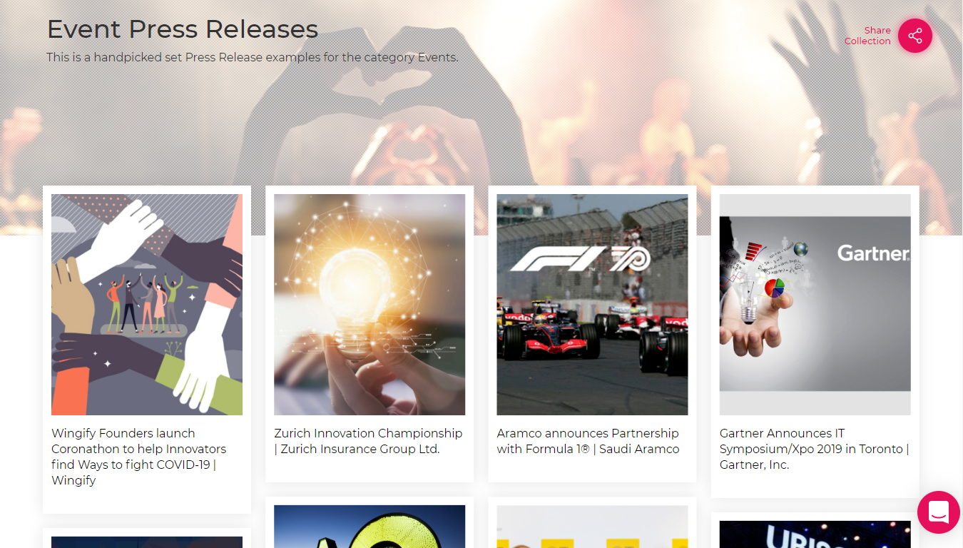 30+ Best Examples of Press Release Templates   Paperflite