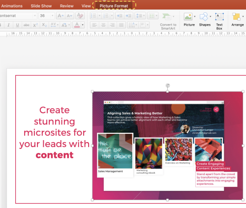 How to make a picture transparent in powerpoint | Paperflite | Picture Format