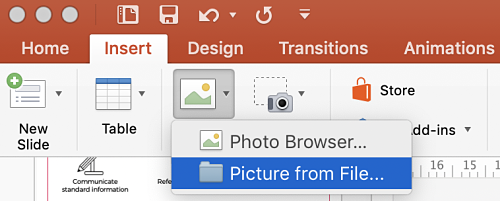 How to make a picture transparent in powerpoint | Paperflite