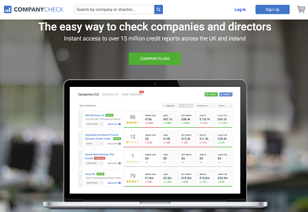 Use CompanyCheck to download competitive intelligence on UK companies