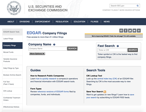 SEC Filings | Use SEC filings to gather company data and fill competitive intelligence templates
