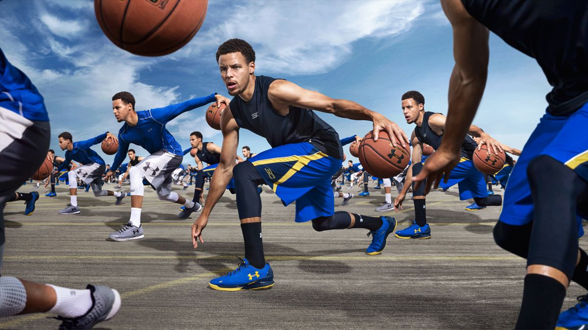 Stephen Curry Under Armour Campaign