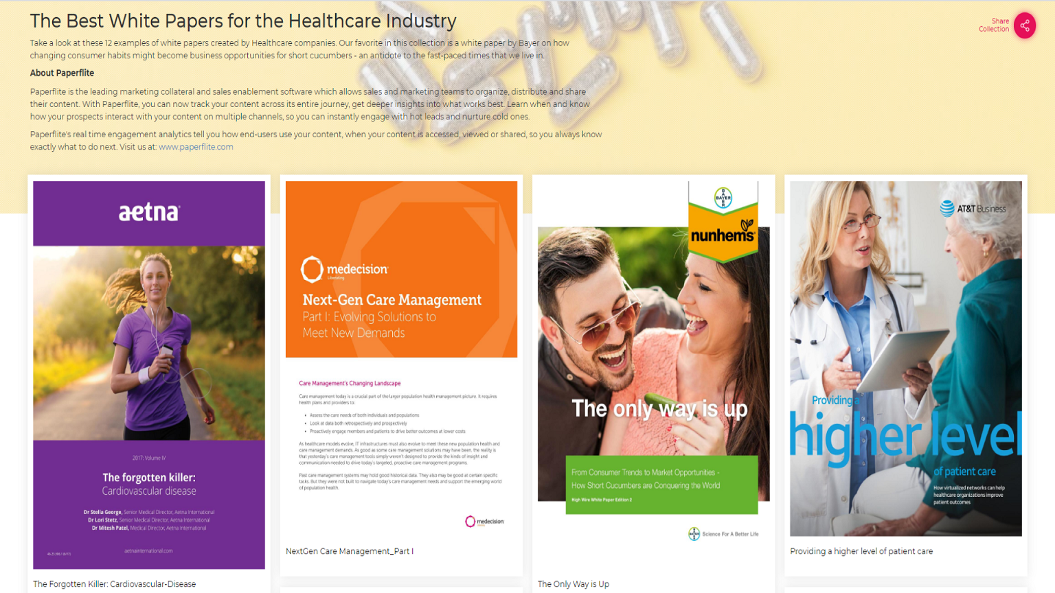 The Best White Papers for the Healthcare Industry