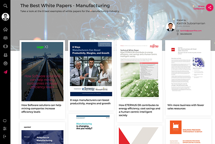The Best White Papers for the Manufacturing Industry