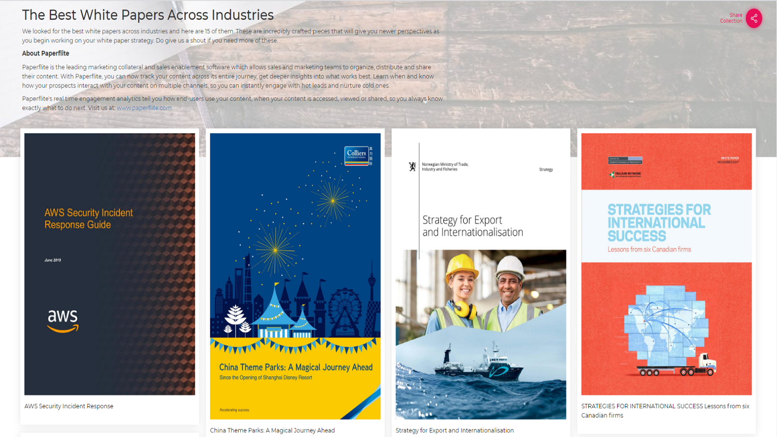The Best White Papers Across Industries