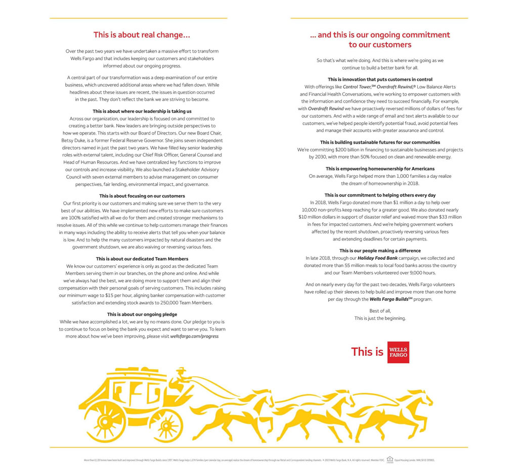 Wells-Fargo-Rebranding-Ad-Wall-Street-Journal-integrated-marketing-communication-campaign