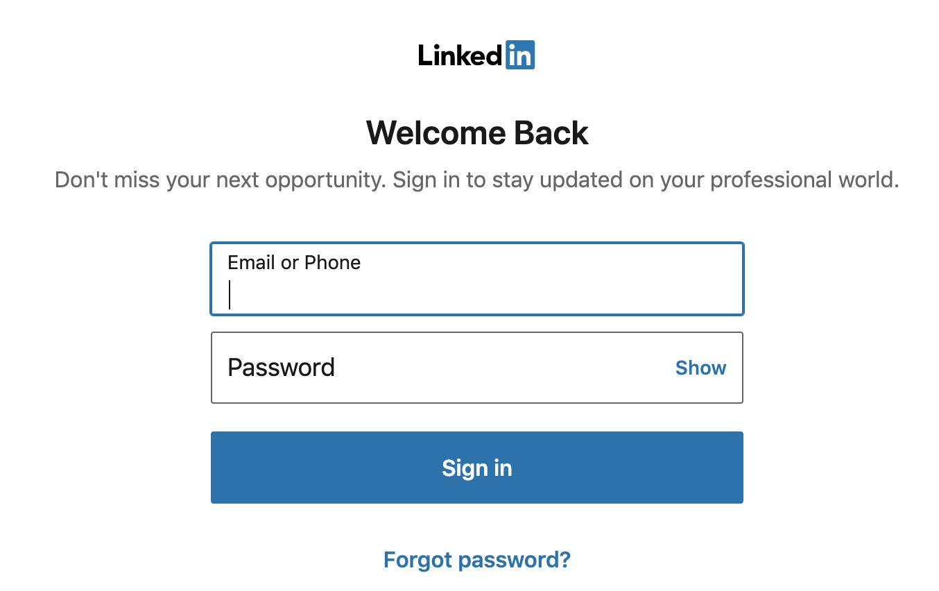 What is my Headline in LinkedIn?