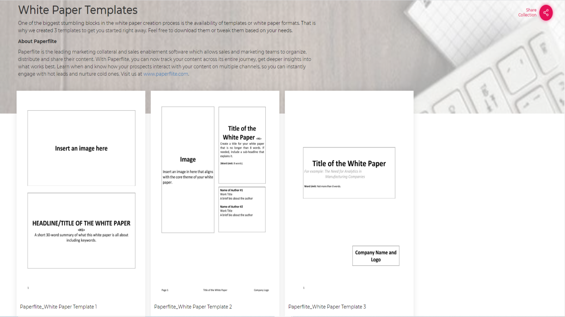 The Best WhitePaper Templates