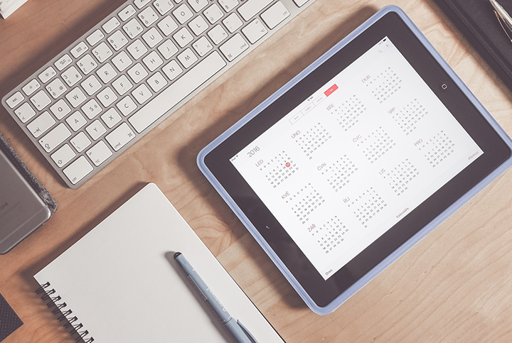 GET YOUR PUBLISHING CALENDAR OUT | Paperflite