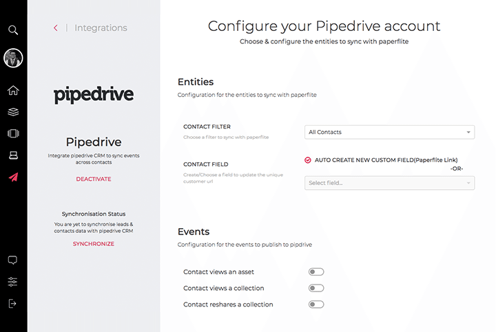 We have now integrated with Pipedrive and that means there are newer ways to supercharge your sales process